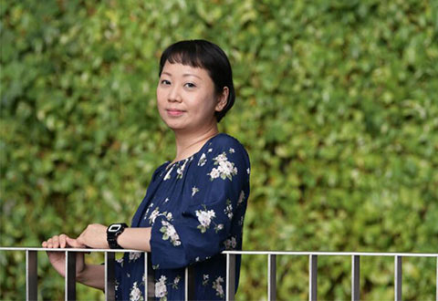 Ms Ong Li Hui had decided to undergo a bilateral mastectomy to prevent the spread of the cancer to the right breast. ST PHOTO NG SOR LUAN