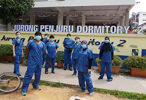 Stepping Up To Care For Our Migrant Workers